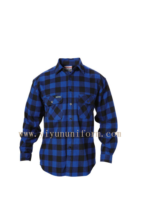 CHECK FLANNEL SHIRT YY8018