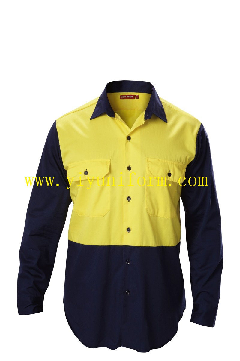 yellow and navy blue shirts YY8023