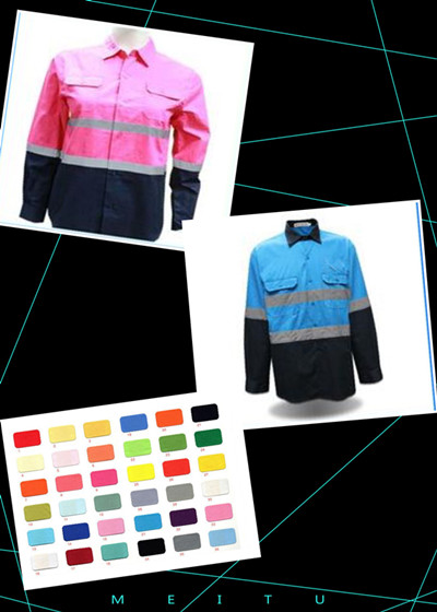 Hi-vis work shirt export