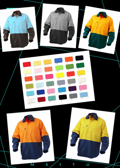 2016 new Hi-vis work shirt export