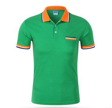 Cotton 12 color money pocket polo shirt