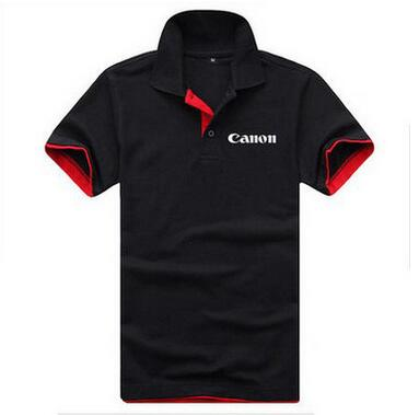 Canon print embroidered logo POLO summer
