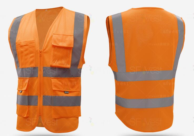 reflective custom safety vests hi vis jacket