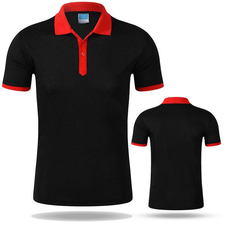 Cotton/polyester Mens staff polo shirt