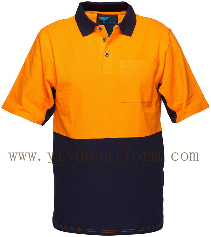 Short Sleeve Cotton Polo Shirt YY8010